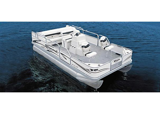 2005 Triton Summit Pontoon 180 F Gold