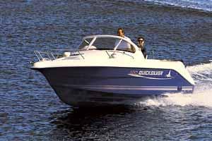 2005 Quicksilver 550 Walkaround