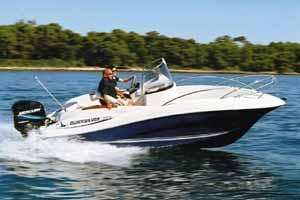 2005 Quicksilver 555 Commander
