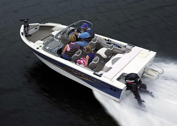 2005 Crestliner Sportfish 1850 I/O
