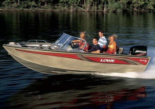 2005 Lowe Fish & Ski FS185