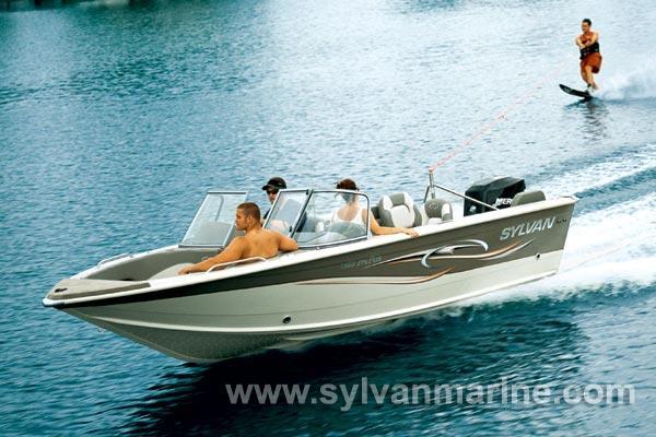 2005 Sylvan 1900 Pro Fish DC