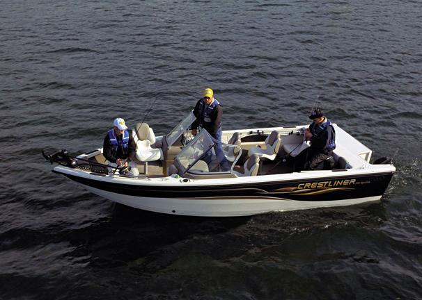 2005 Crestliner Sportfish 1950 I/O