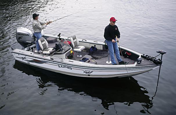 2005 Lund 1900 Pro-V LE