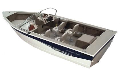 2005 Starcraft Fishmaster 196