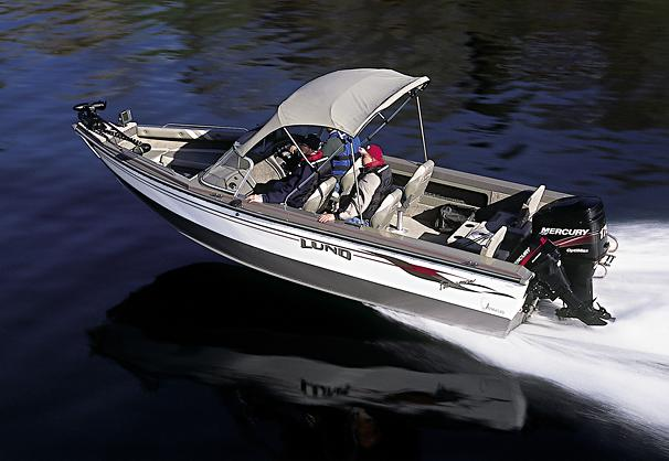 2005 Lund 2000 Fisherman OB