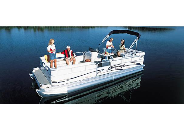 2005 Triton Summit Pontoon 200 Gold