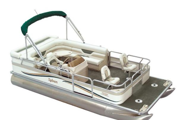 2005 Sylvan 820 Mirage Fish