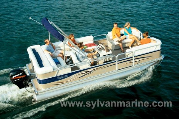 2005 Sylvan 8520 Mirage Cruise RE