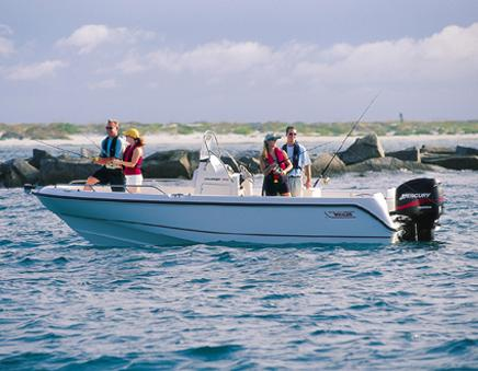 2005 Boston Whaler 210 Outrage