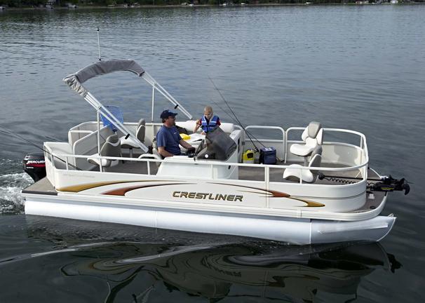 2005 Crestliner Sport Classic Fisherman 2085