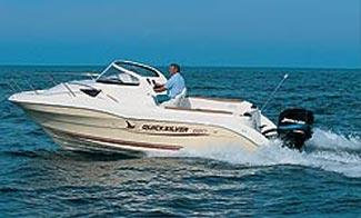 2005 Quicksilver 620 Cruiser