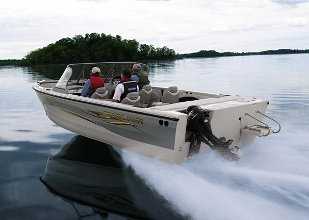 2005 Crestliner Sportfish 2150 I/O