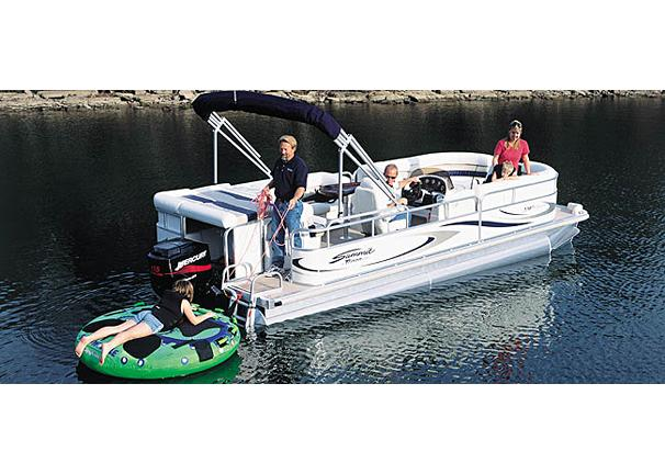 2005 Triton Summit Pontoon 220 Platinum