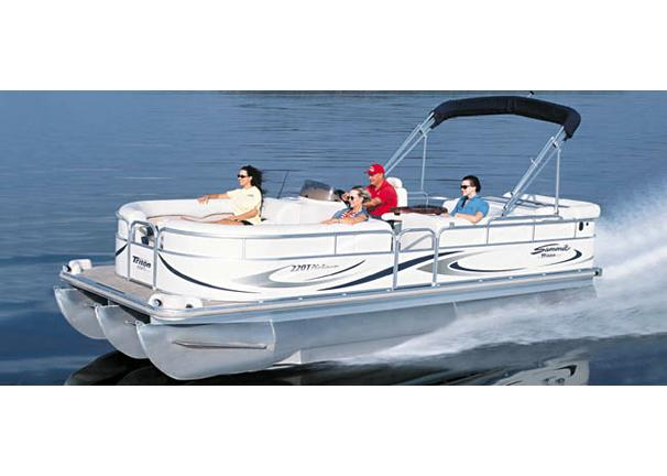 2005 Triton Summit Pontoon 220 T Platinum