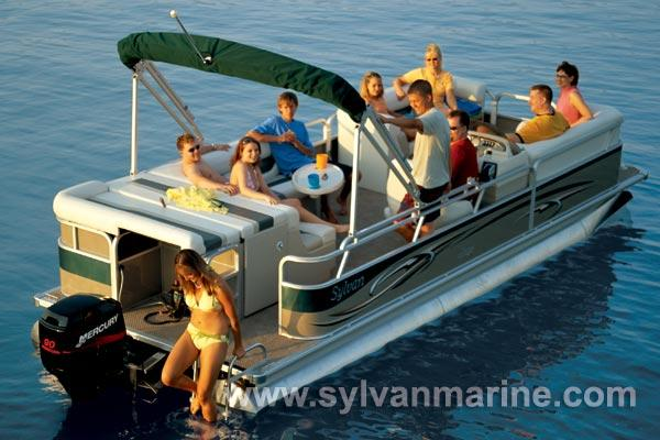 2005 Sylvan 822 Mirage Cruise RE