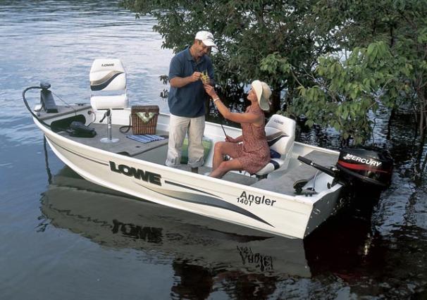 2005 Lowe Angler AN140T
