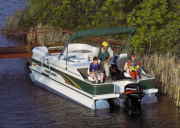 2005 Crestliner LSi Angler 2085
