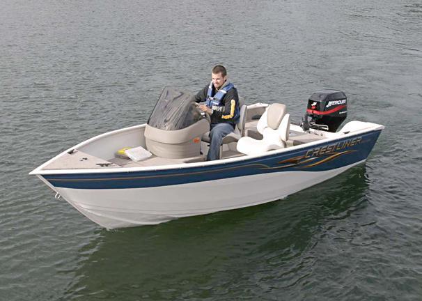 2005 Crestliner Angler 1400 SC