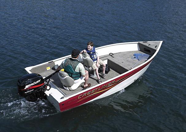 2005 Crestliner Angler 1400 Tiller
