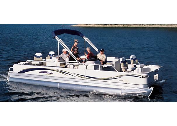 2005 Triton Summit Pontoon 240 F Gold