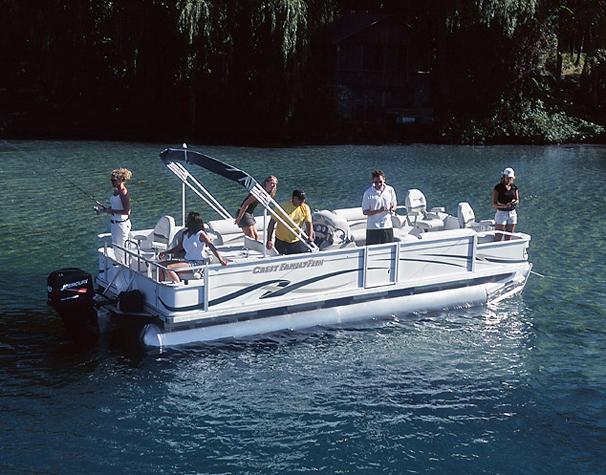 2005 Crest 25 Family Fisherman