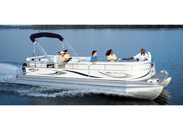 2005 Triton Summit Pontoon 250 Platinum