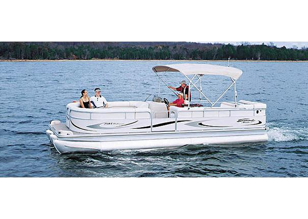 2005 Triton Summit Pontoon 250 T Platinum