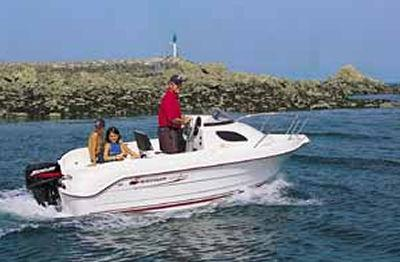 2005 Quicksilver 420 Flamingo