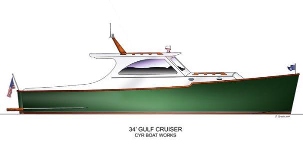 2005 Cyr 34 Gulf Cruiser