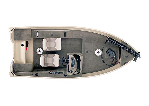 2005 Polar Kraft Fisherman V144 SC