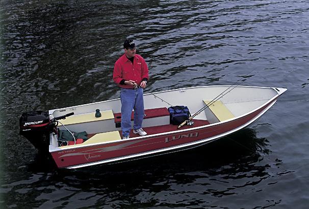 2005 Lund WC 14 DLX Tiller