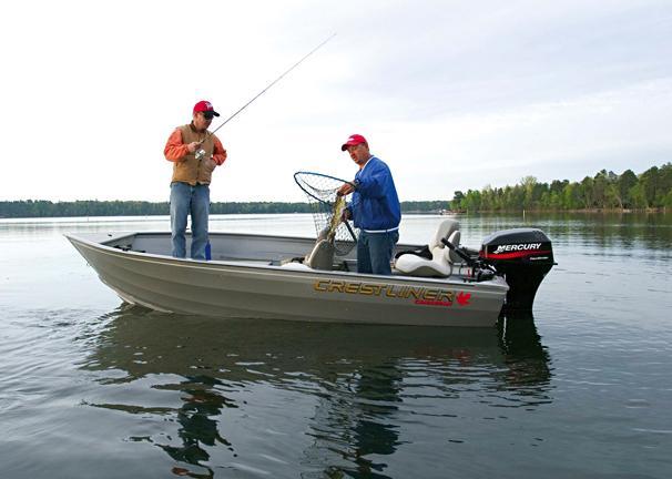 2005 Crestliner Canadian 14 SC