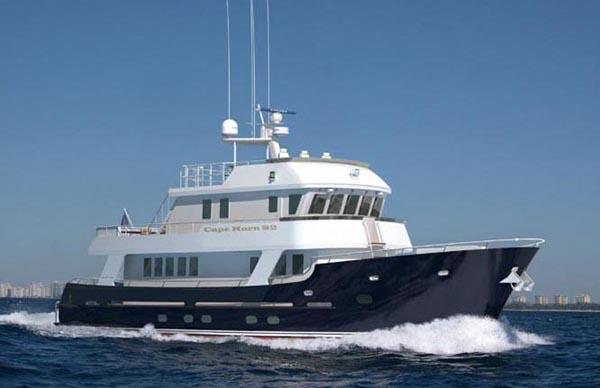 2005 Cape Horn Yachts 82 Tri-Deck