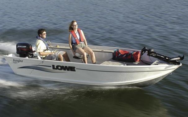 2005 Lowe Angler AN150T