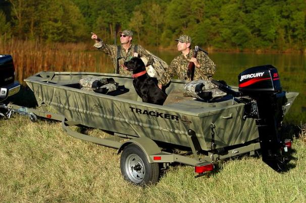 2005 Tracker Grizzly 1548 T Blind Duck