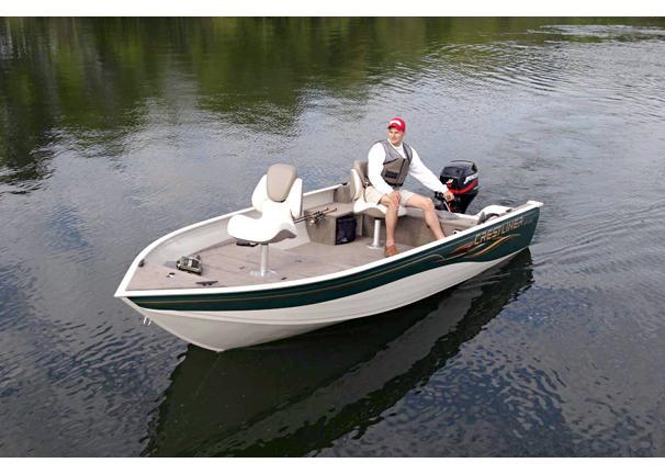 2005 Crestliner Angler 1600 Tiller
