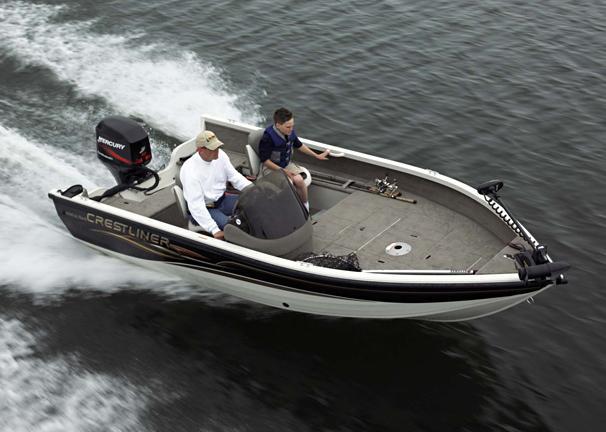 2005 Crestliner Fish Hawk 1650 SC