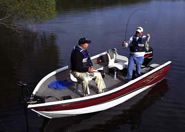 2005 Crestliner Fish Hawk 1650 Tiller