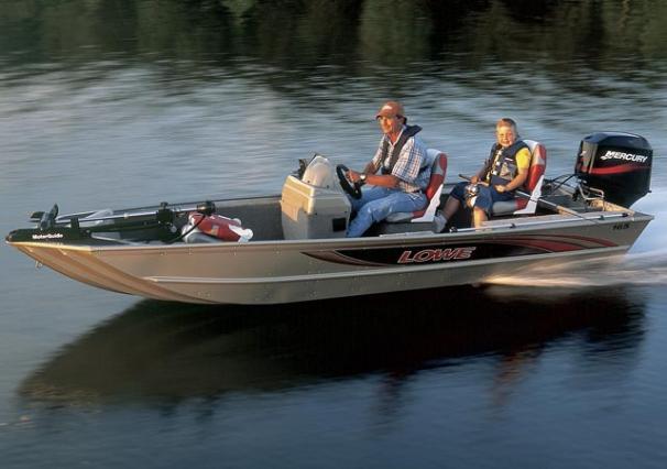 2005 Lowe Fishfinder 165