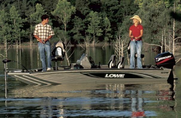 2005 Lowe Stinger 160W