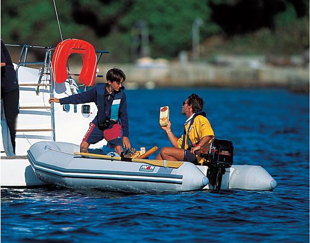 2005 Avon Rover 280 Inflatable