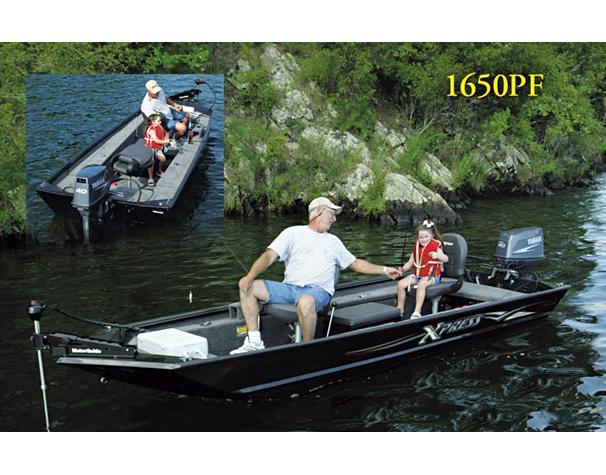 2005 Xpress Panfish 1650PF