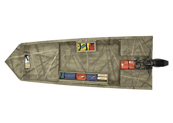 2005 Tracker Grizzly 1648 T Blind Duck