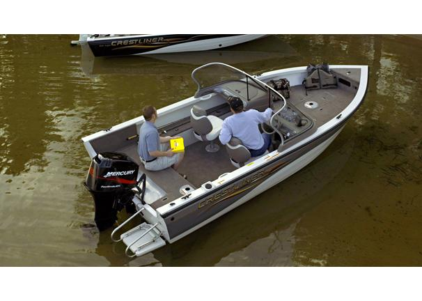 2005 Crestliner Sport Angler 1650