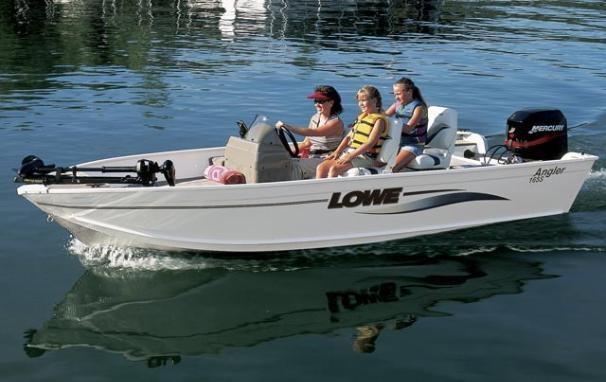 2005 Lowe Angler AN165S