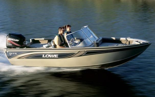 2005 Lowe Fish & Ski FS165