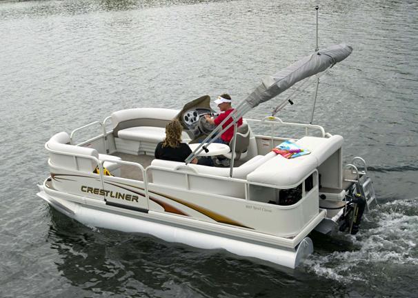 2005 Crestliner Sport Classic Pontoon 1685