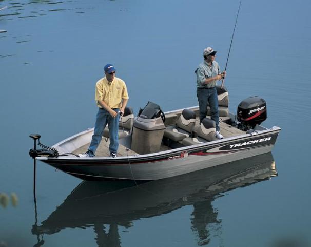 2005 Tracker Pro Angler V 16