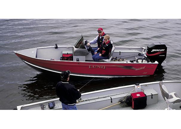 2005 Lund 1600 Alaskan SS